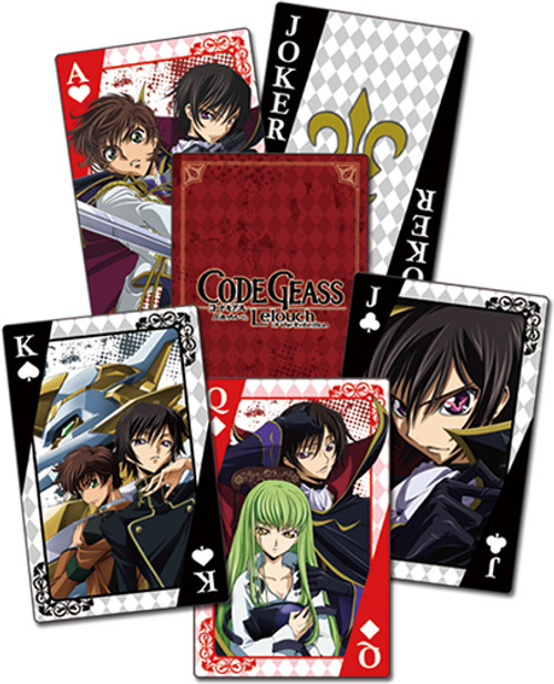 Code Geass - Group Playing Cards 5166318BAS