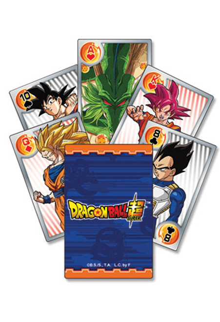 Dragon Ball Super - Battle Of Gods Characters Group Playing Cards 5165718BAS