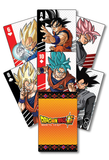 Dragon Ball Super - Characters Group Playing Cards 5166018BAS