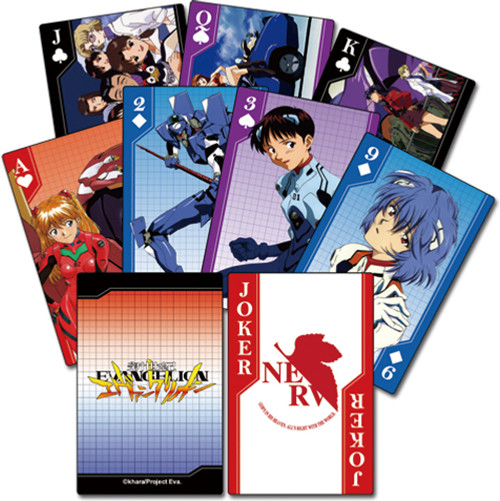 Evangelion - Group Playing Cards 5164218BAS