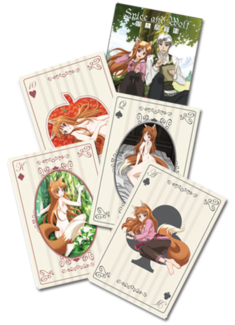 Spice And Wolf Holo Playing Cards 8550018BAS