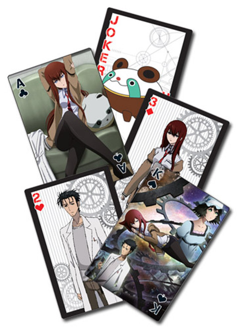 Stein;s Gate - Artwork Picture Playing Cards 5168218BAS