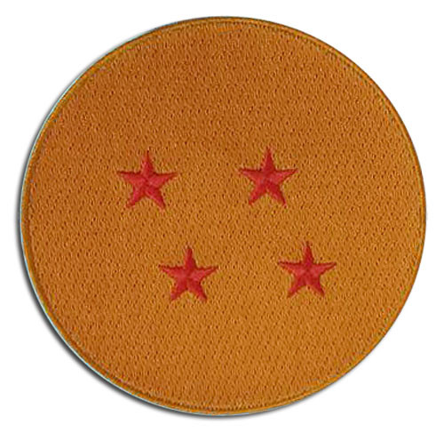 Dragon Ball Z - 4-star Dragonball Embroidered Patch 4412418BAS
