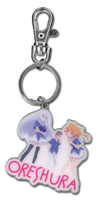 Oreshura Group Metal Keychain 3671418BAS