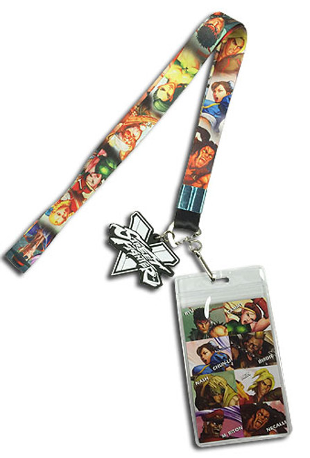Street Fighter V - Character Line-up Lanyard 3783918BAS