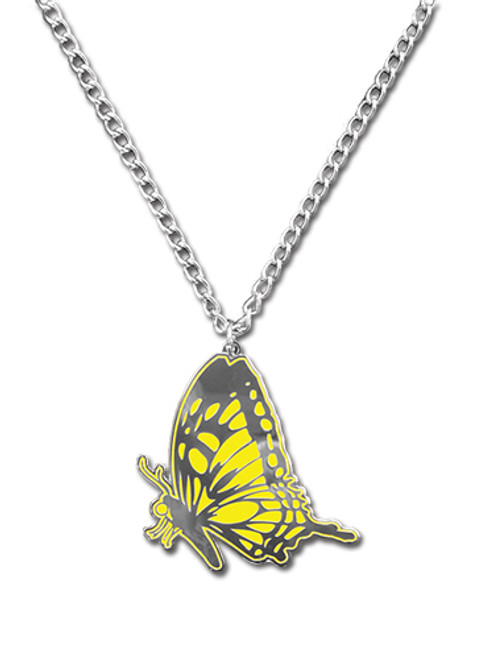 Blast Of Tempest Monarch Butterfly Necklace 3561918BAS