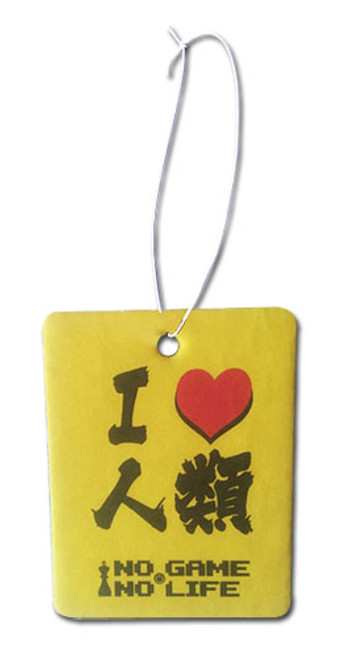 No Game No Life - I Love Humans Air Freshener 1058718BAS