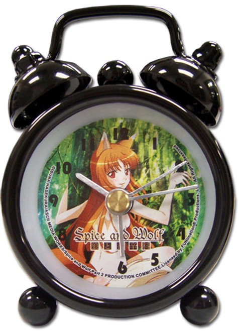 Spice And Wolf Holo Mini Desk Clock 8901018BAS