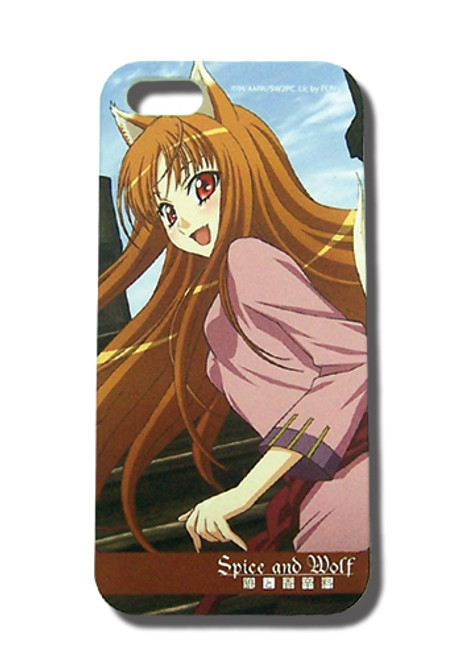 Spice And Wolf Holo Iphone 5 Case 4704518BAS