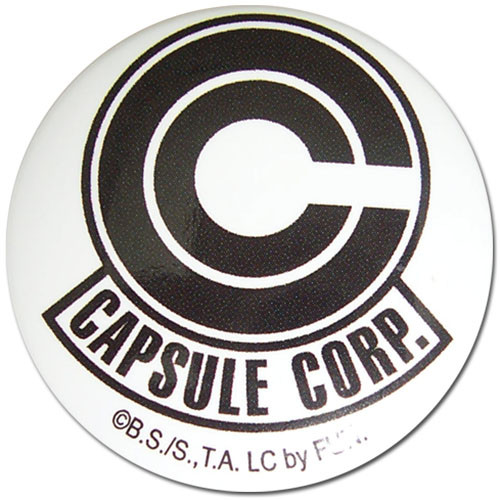 Dragon Ball Z - Capsule Corp 1.25'' Button 1665218BAS