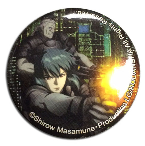Ghost In The Shell - Motoko & Batou Button 1674718BAS