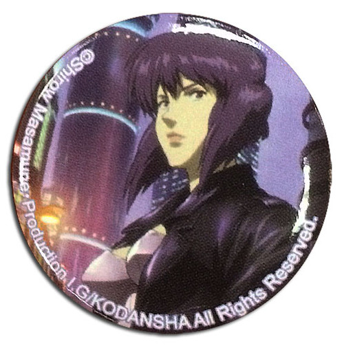 Ghost In The Shell - Motoko Cityspace Button 1674518BAS