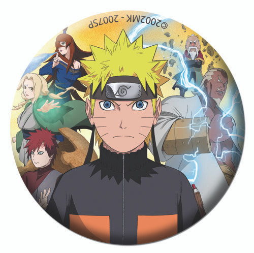 "Naruto Shippuden - Group Button 1.25"" 1821318BAS"