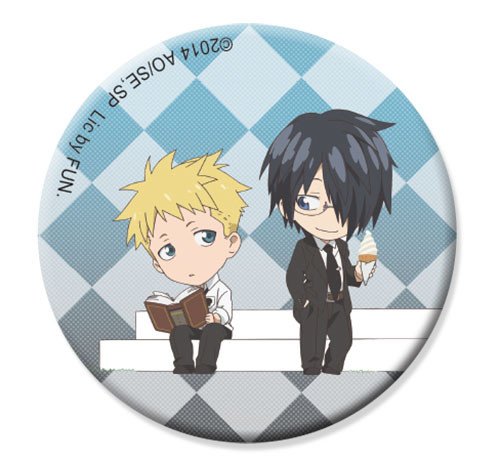Soul Eater Not! - Akane & Clay Sd Button 1.25'' 1648318BAS