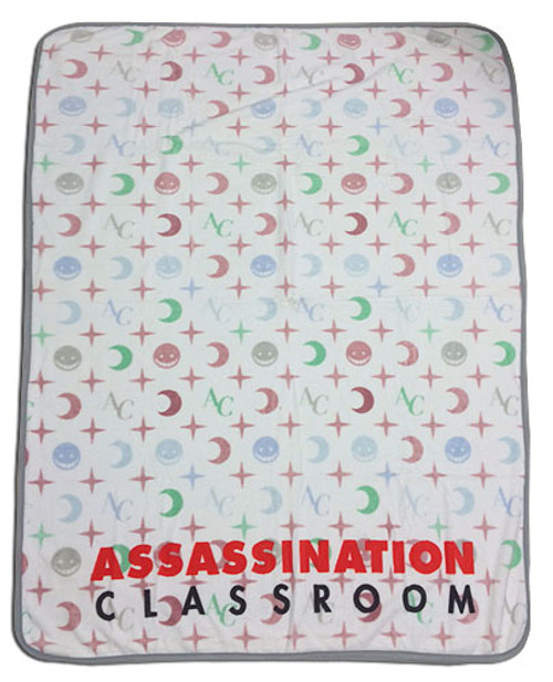 Assassination Classroom - Anime Monogram Throw Blanket 5772618BAS