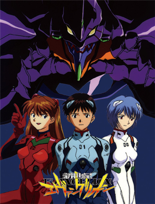 Evangelion - Group Sublimation Throw Blanket 5777518BAS