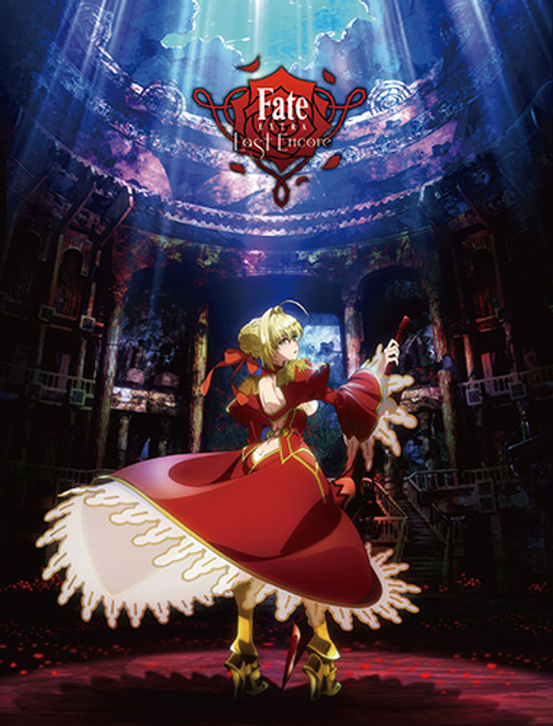 Fate/extra Last Encore - Key Art 1 Sublimation Throw Blanket 7605918BAS
