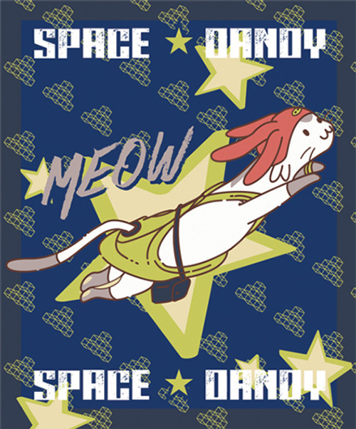 Space Dandy - Meow Throw Blanket 5762118BAS
