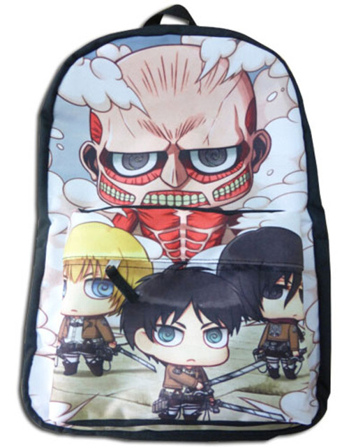 Attack On Titan - Attack On Titan Sd Backpack 1119218BAS