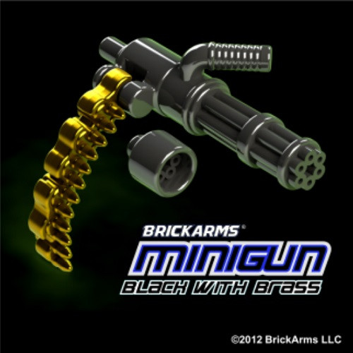 BrickArms BLACK & BRASS Minigun