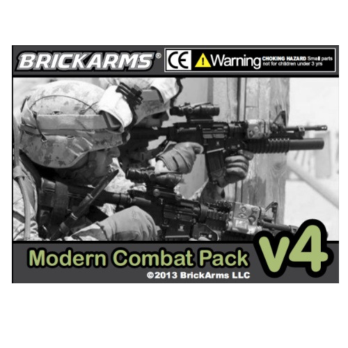 BrickArms Modern Combat Pack v4