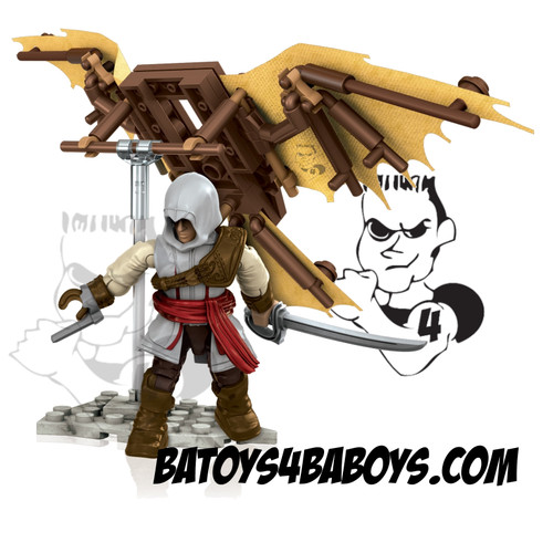 Mega Bloks ASSASSIN'S CREED Flying Machine, a featured ASSASSIN'S CREED Mega Bloks CONSTRUCTION SET.