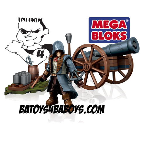 Mega Bloks ASSASSIN'S CREED Cannon Assault, a featured ASSASSIN'S CREED Mega Bloks CONSTRUCTION SET.