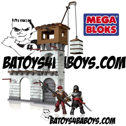 Mega Bloks ASSASSIN'S CREED Siege of Monteriggioni, a featured ASSASSIN'S CREED Mega Bloks CONSTRUCTION SET.