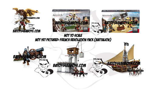 Mega Bloks ASSASSIN'S CREED B.A. Toys 2014 Fall ACMB Blitz Bundle, a featured ASSASSIN'S CREED Mega Bloks CONSTRUCTION SET.