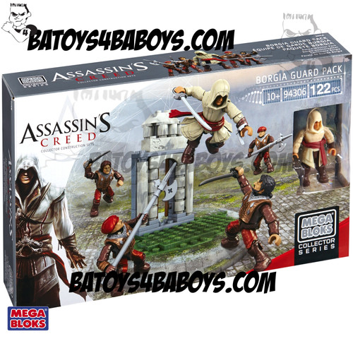 Mega Bloks ASSASSIN'S CREED Borgia Faction Battlion Pack, a featured ASSASSIN'S CREED Mega Bloks CONSTRUCTION SET.