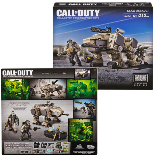 Mega Bloks CALL OF DUTY CLAW Assault, a featured CALL OF DUTY Mega Bloks CONSTRUCTION SET.