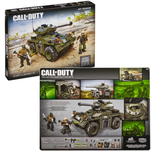 Mega Bloks CALL OF DUTY APC Invasion, a featured CALL OF DUTY Mega Bloks CONSTRUCTION SET.