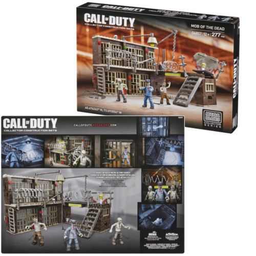 Mega Bloks CALL OF DUTY Mob of the Dead, a featured CALL OF DUTY Mega Bloks CONSTRUCTION SET.
