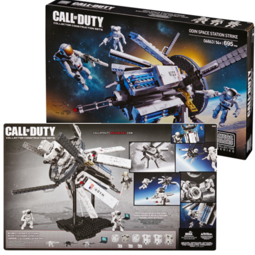 Mega Bloks CALL OF DUTY Odin Space Station Strike, a featured CALL OF DUTY Mega Bloks CONSTRUCTION SET.