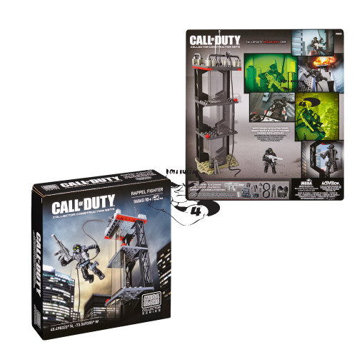 Mega Bloks CALL OF DUTY Ghost Rappel [Repel] [Repel] Fighter, a featured CALL OF DUTY Mega Bloks CONSTRUCTION SET.