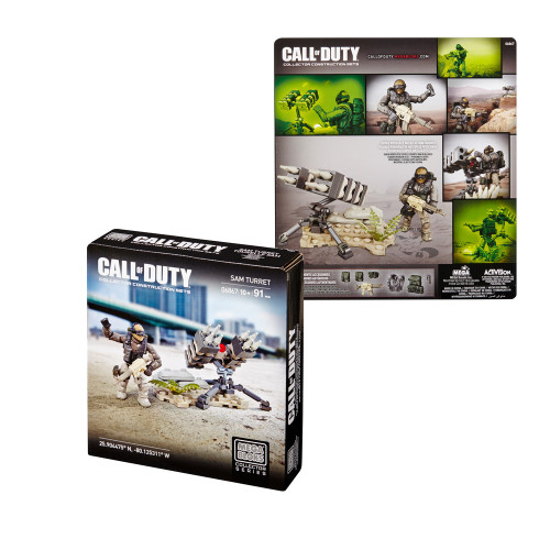 Mega Bloks CALL OF DUTY SAM Turret, a featured CALL OF DUTY Mega Bloks CONSTRUCTION SET.