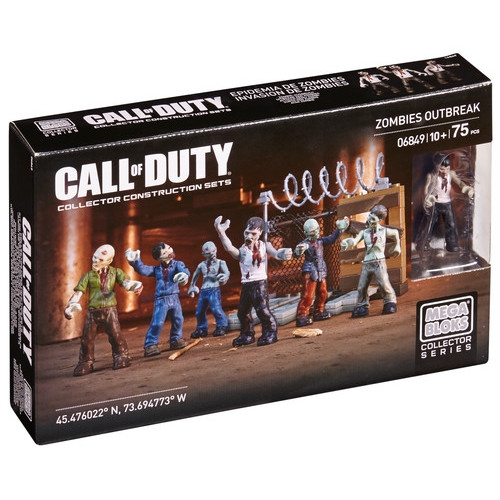 Mega Bloks CALL OF DUTY Zombies Outbreak, a featured CALL OF DUTY Mega Bloks CONSTRUCTION SET.