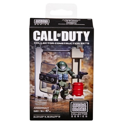 Mega Bloks CALL OF DUTY Juggernaut, a featured CALL OF DUTY Mega Bloks CONSTRUCTION SET.