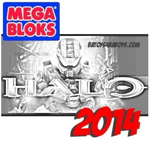 Mega Bloks HALO WARS Metallic Series Drop Pod Asst II Case of 16, a featured HALO WARS Mega Bloks CONSTRUCTION SET.