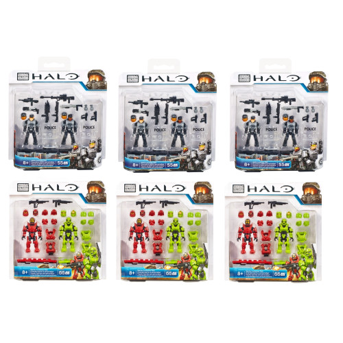 Mega Bloks HALO WARS Halo Customizer SIX Pack, a featured HALO WARS Mega Bloks CONSTRUCTION SET.