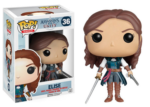 Assassins Creed Unity Elise Funko Pop! Games Vinyl Figure