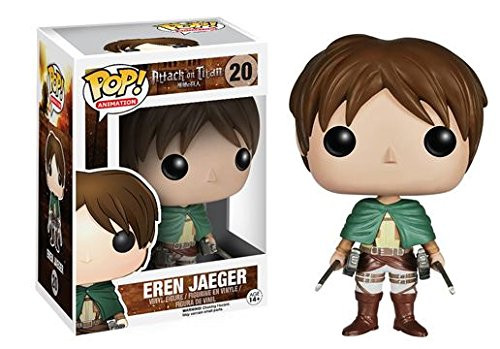 Attack on Titan Eren Jaeger Funko Pop! Anime Vinyl Figure