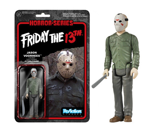Friday the 13th Jason Voorhees Funko ReAction Retro Action Figure