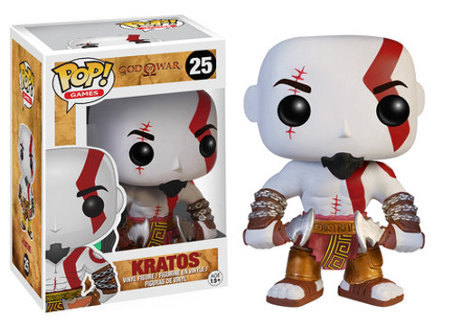 God of War Kratos Funko Pop! Games Vinyl Figure