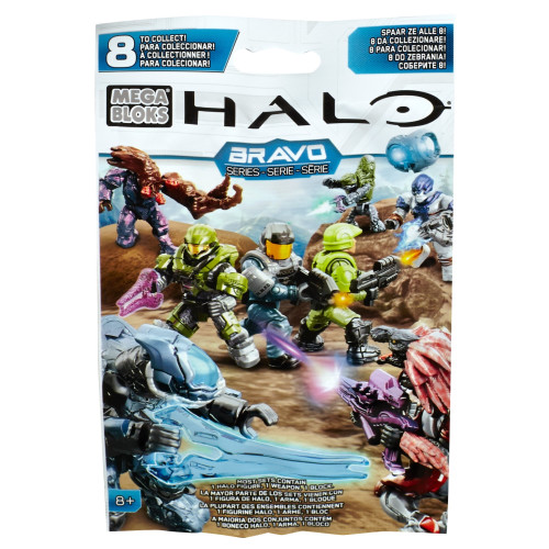 Mega Bloks HALO WARS Bravo Series M.A.F. [Micro Mini Action Figure] Mystery Pack, a featured HALO WARS Mega Bloks CONSTRUCTION SET.