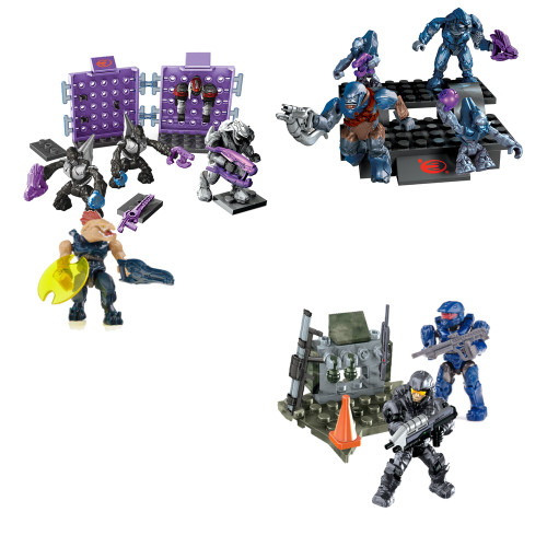 Mega Bloks HALO WARS BAToys Custom Basic Training, a featured HALO WARS Mega Bloks CONSTRUCTION SET.