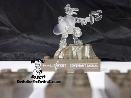 Mega Bloks HALO WARS Exclusive Active Camo Covenant Jackal, a featured HALO WARS Mega Bloks CONSTRUCTION SET.