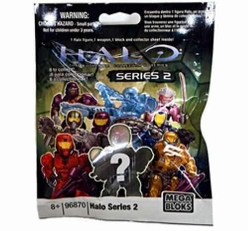 Mega Bloks HALO WARS Series 2 Minifigure Mystery Pack, a featured HALO WARS Mega Bloks CONSTRUCTION SET.