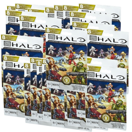 Mega Bloks HALO WARS Series 9 Factory Sealed Case, a featured HALO WARS Mega Bloks CONSTRUCTION SET.