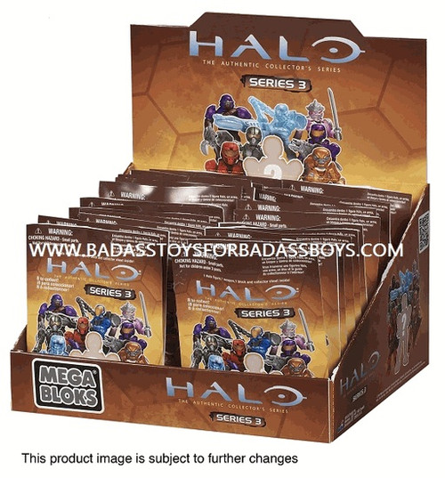 Mega Bloks HALO WARS Series 3 Mystery Pack, a featured HALO WARS Mega Bloks CONSTRUCTION SET.